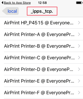 AirPrint: No printers visible on Apple iOS devices – Print